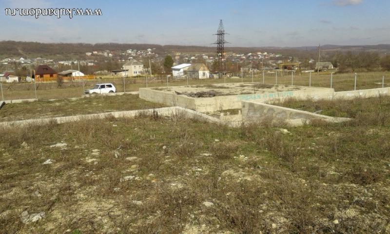 земельный участок в двух уровнях